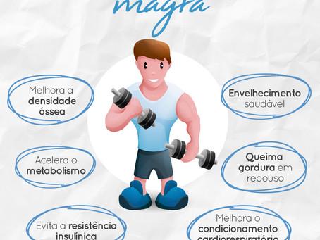 Benefícios do ganho da massa magra