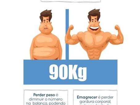 Perder peso e emagrecer é a mesma coisa?