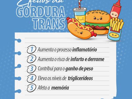 Efeitos da gordura trans