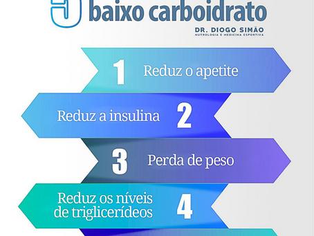 5 Benefícios da dieta de baixo carboidrato
