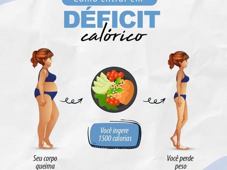 Como entrar em déficit calórico