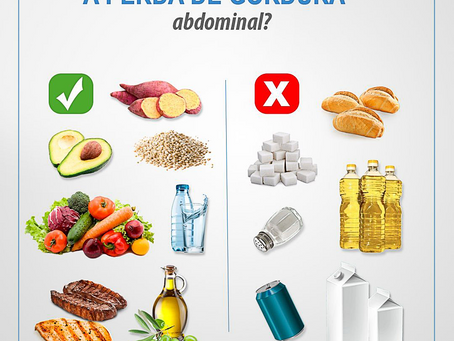 O que auxilia e prejudica a perda de gordura abdominal?