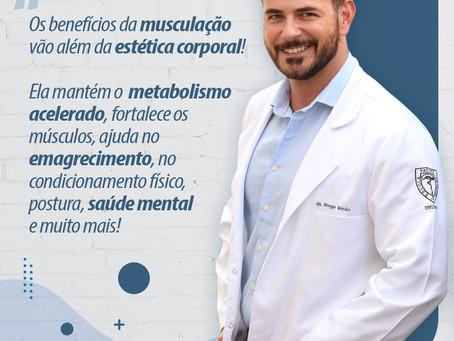 Benefícios da musculação além da estética corporal