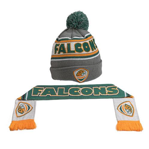 Falcons Beanie & Scarf Combo