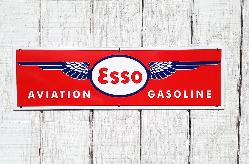 Esso Aviation Sign