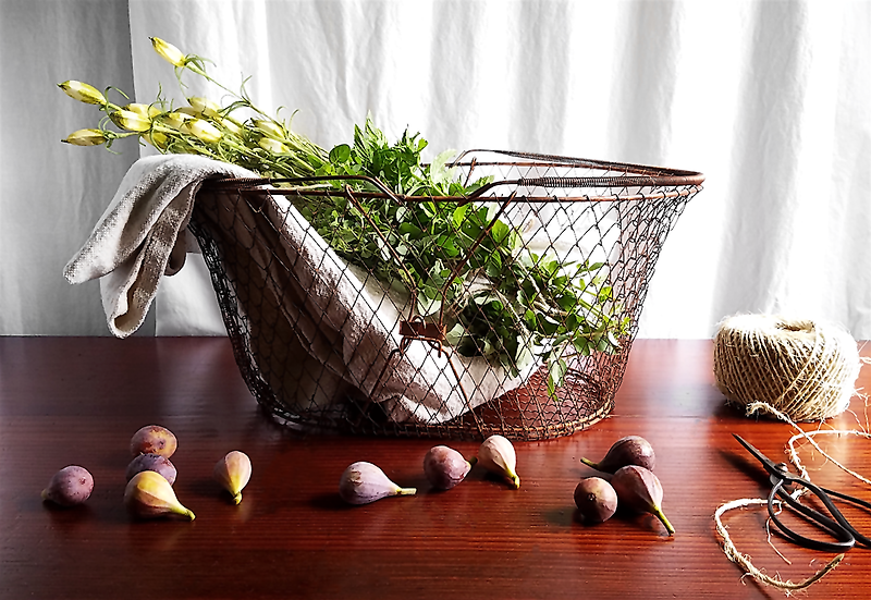 Copper Pawley's Market Basket