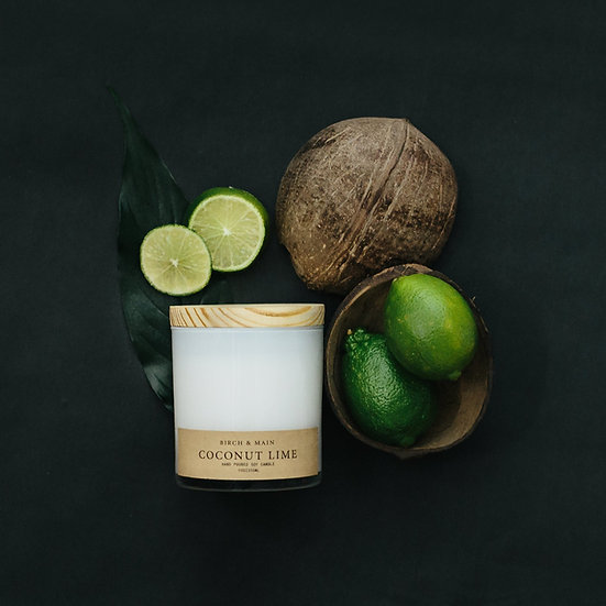 roote COCONUT LIME | Soy Apothecary Candle
