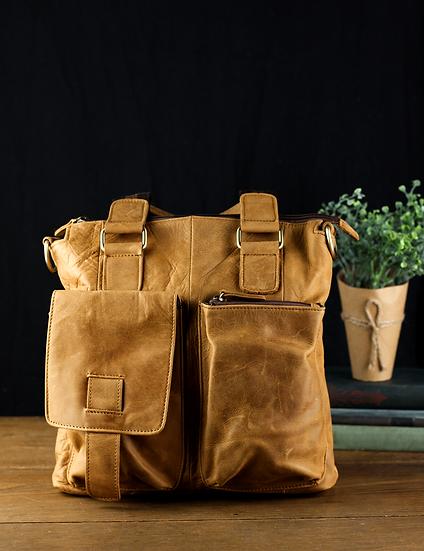 Fraser Leather Messenger Bag