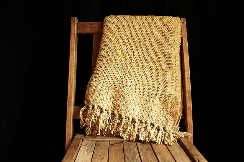 The Marsh Cotton Woven Throw