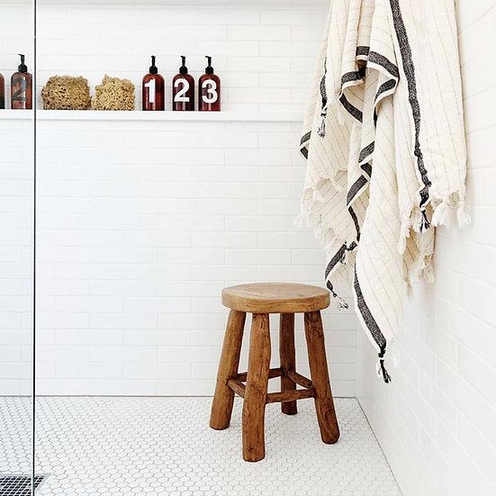 Loomia | SILVIA Cotton + Bamboo Bath Towel