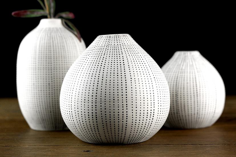 Sea Urchin Stoneware Vases