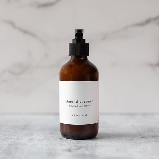 roote ALMOND COCONUT  | Botanical Vegan Body Lotion