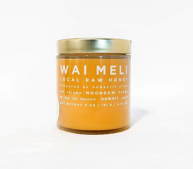 Organic Unprocessed Honey in a Jar