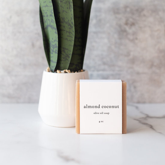 roote ALMOND COCONUT   Olive Oil Soap