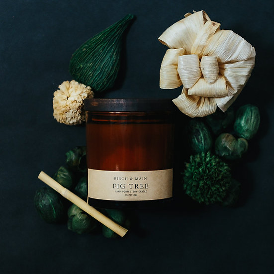roote FIG TREE | Soy Apothecary Candle