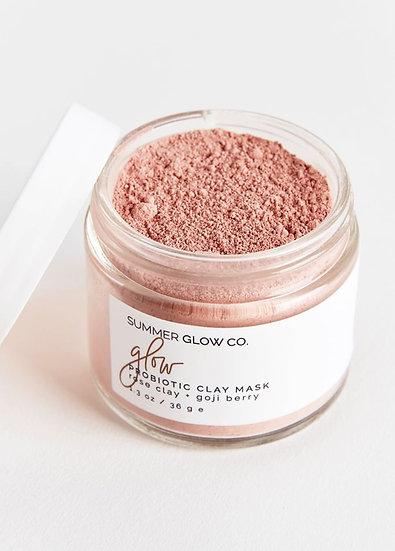ROSE CLAY + GOJI Probiotic Clay Mask