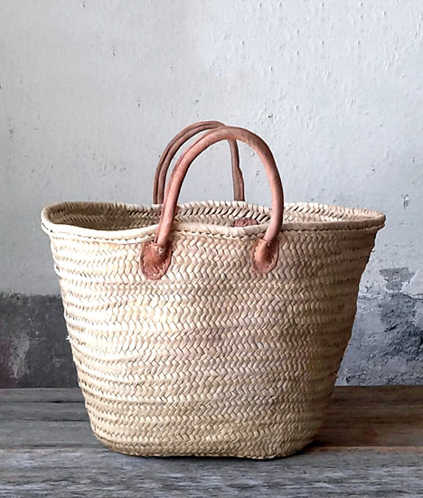 French Style Handwoven Basket