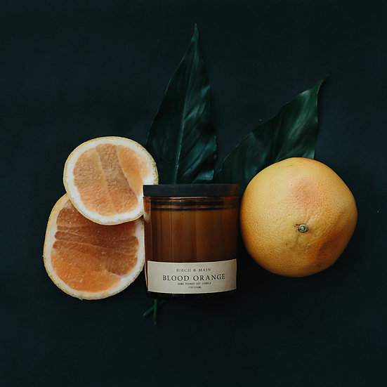 roote BLOOD ORANGE | Soy Apothecary Candle