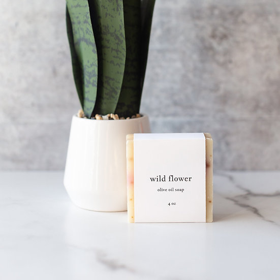 roote WILD FLOWER | Olive Oil Soap
