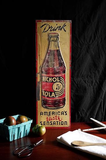 1936 Nichols Kola Sign