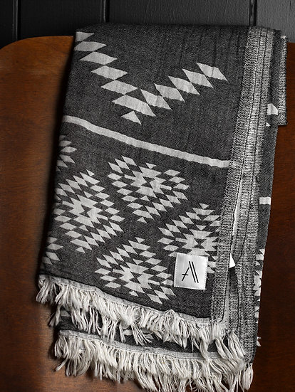 Handwoven Sustainably Made Throw