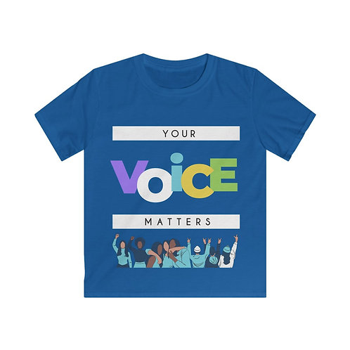 Your Voice Matters Boys Soft Style Tee