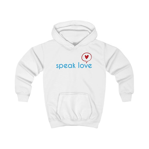 Speak Love Kids Hoodie