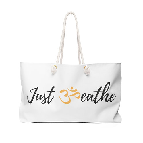 Just Breathe Weekender Bag