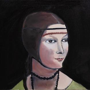 Dama con ermellino invisibile