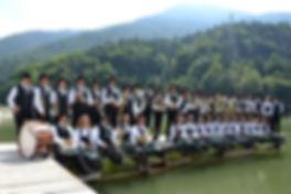 2012 estate - la Banda in riva al lago.j