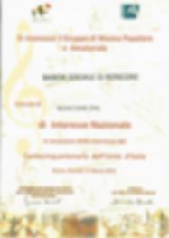 20110317 - Riconoscimento Associazione d
