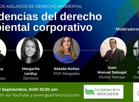 """Coloquios Aislados de Derecho Ambiental (10) """"Tendencias del derecho ambiental corporativo"""""""