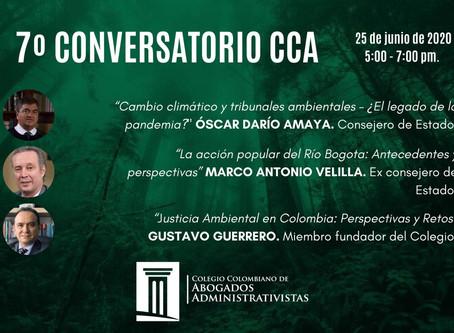 7o Conversatorio del Colegio Colombiano de Abogados Administrativistas sobre Derecho Ambiental