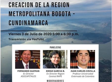 """Coloquios Aislados de Derecho Ambiental Sesión 8 """"La Región Metropolitana Bogotá Cundinamarca"""""""
