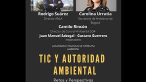 """Coloquios Aislados de Derecho Ambiental Sesión 6 """"TIC y Autoridad Ambiental: Retos y Perspectivas"""""""