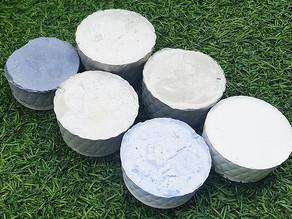 איך להכין בטון עם מלט לבן ועם מלט אפור בבית