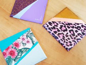 איך להכין תחתיות לכוסות עם דקופאז', צבע ספריי ואקריליק