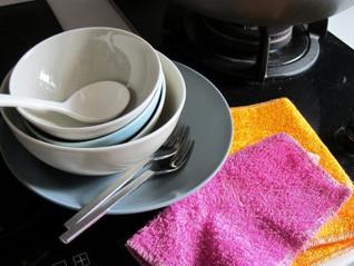 竹纖維洗碗布 - 環保實用兼備
