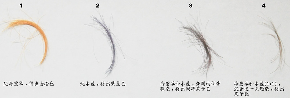 天然染髮  海靈草/木藍粉