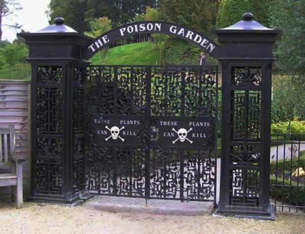 puertas jardín envenenado