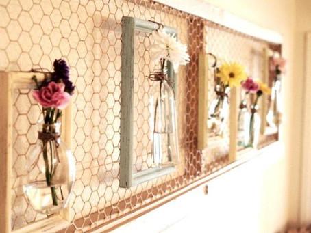 Llena las paredes de tu casa de flores
