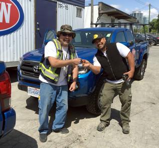 Keys to work truck
