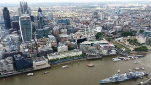 View from the Shard 2012