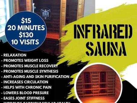 NEW!! Infra red Sauna!!