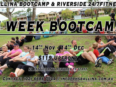 Ballina Bootcamp and Riverside 24/7 together!
