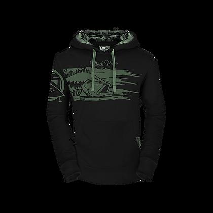 hoodie black bass