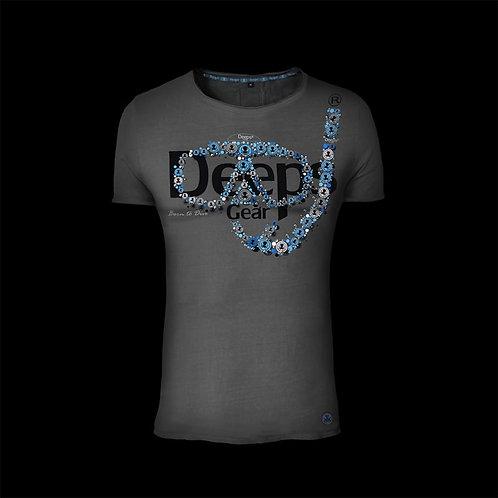T-shirt man METAL MASK