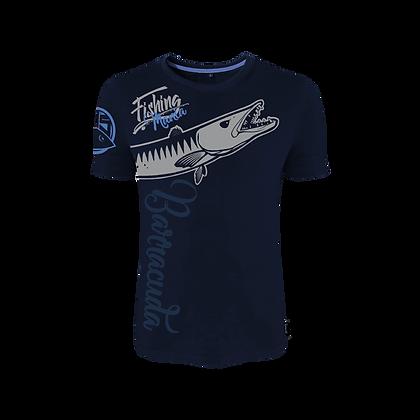 T-shirt Fishing Mania Barracuda