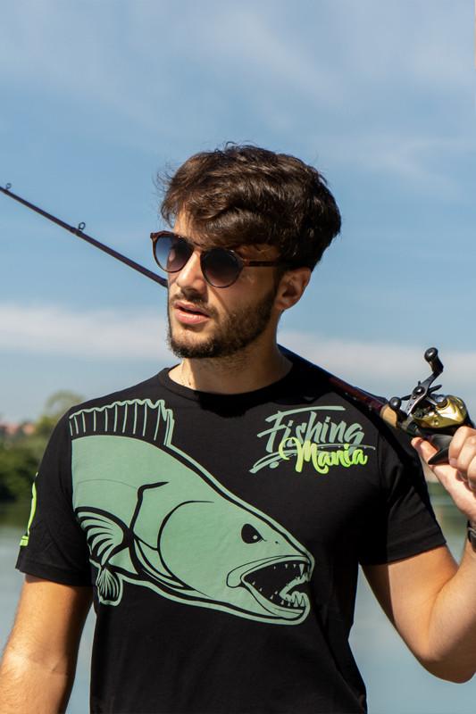 for Carp Anglers Black T Shirt HOTSPOT DESIGN Fishing Mania Carpfishing