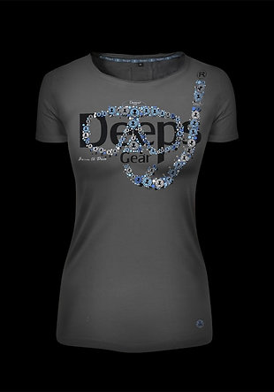 T-shirt woman METAL MASK